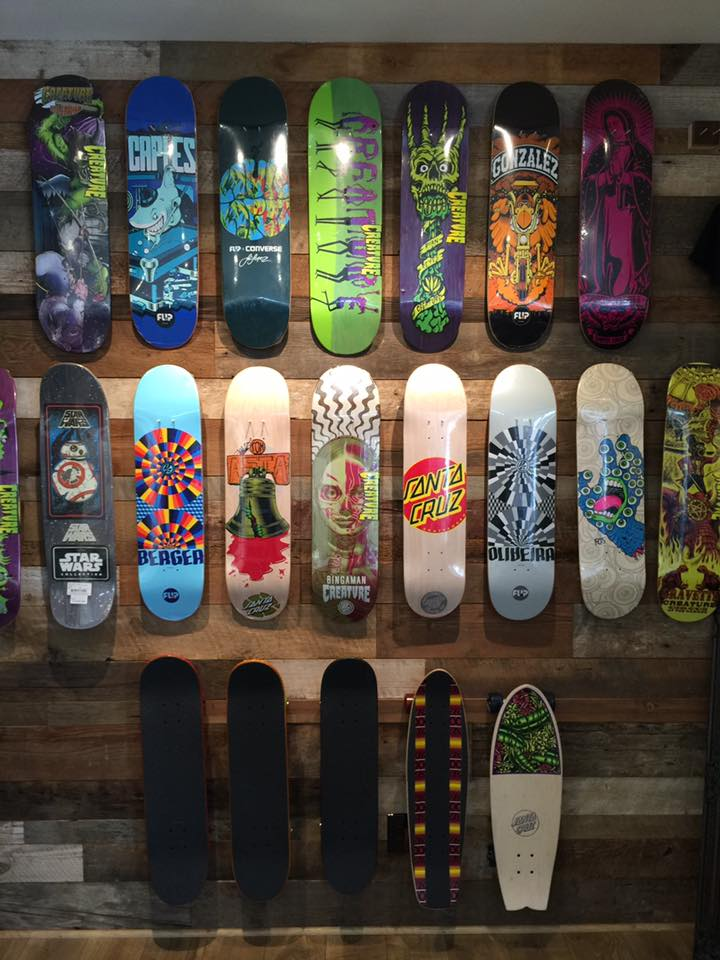 Skateboard shop in Alamo, CA